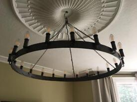 Oval Vintage Medieval Chandalier Light