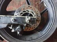 Honda CBR 125 - Nisin calliper and disc