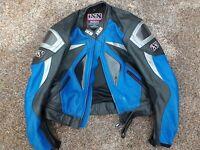 Leather Motorbike jacket - iXS European Size 56 - 3XL