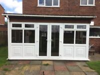 Doors and windows of conservatory
