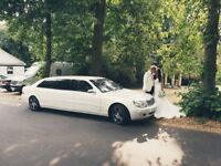 8 seat limo hire | Limo for bridesmaids | Limo for Groomsmen | Mercedes Pullman Limo | Limousine