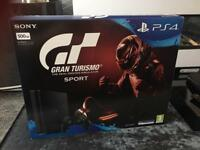 PlayStation 4 PS4 with Gran Turismo Sport Pack