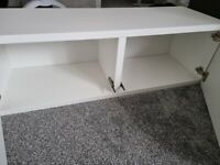 2 x IKEA hanging shelves