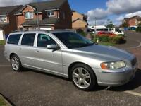Volvo V70 SE D5 AUTO 2.4 Diesel Estate 2005 FULL YEARS MOT as Insignia Mondeo Vectra A6 520D Touring