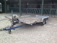 Tilt Bed Car/Plant Transporter Trailer (Bateson) 16x 6.2 with 2000kgs Winch