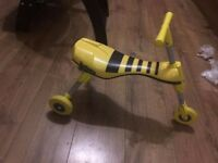 Mookie scuttlebug bee trike for sale