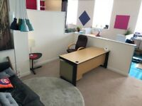 Double Size Office Pod in Open Plan Co-Working Space - Central Elgin - Fibre WiFI - All Bills Inc