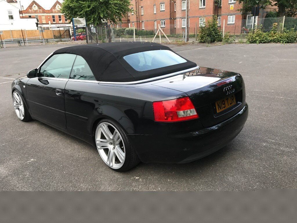 audi a4 convertible cabriolet 2 5tdi v6 stance slammed show in westcliff on sea essex. Black Bedroom Furniture Sets. Home Design Ideas
