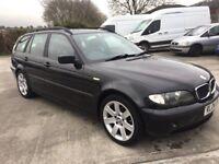 Full MOT, BMW 316 Touring, 2004 Petrol Manual Estate
