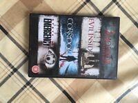 Set of 3 horror films