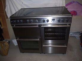 Belling S.S 1000 range cooker