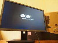 ACER B236HL 23-INCH IPS LCD MONITOR FULL HD 1920x1080 6ms, DISPLAYPORT/VGA/DVI