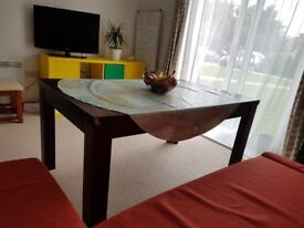 Solid big dining table for sale