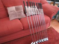 Great set of Callaway Big bertha irons near new golf pride grips 5 to S will post in price