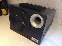 Vibe CBR 10 Active 1200W Car Audio Subwoofer Sub Bass **£15 only**