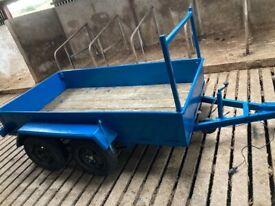 8by4 car trailer