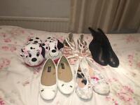 Girls shoe bundle size 4&5