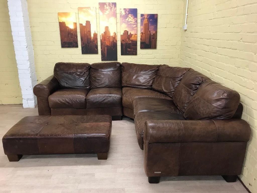 Comfy Sofitalia Leather Corner Sofa