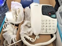 BT TELEPHONE ONLY 2 WEEKS OLD AS NEW BOXED
