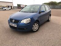 2006 VW POLO-ONLY 1.2i PETROL-FULL SERVICE HISTORY-LOW MILEAGE-SPOT ON EXAMPLE-UP TO 55 MPG-BARGAIN