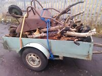 Trailer 6 x 3 box, leaf spring, ideal dump run, gardening, log collection etc