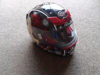 KBC Full Face Motorbike Helmet.