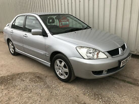2008 (08) Mitsubishi Lancer 1.6 Equippe - MOT till March 2018