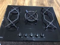 Gas Hob working middle one needs servicing £80 call for more info.