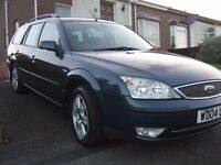 2004 Ford mondeo 2.0tdci full years mot estate with tow bar drives 100% !!!!!!!!!!!