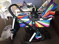 cassato pram baby stroller with raincover: Giggle 2 Travel System