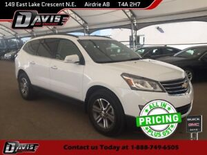 2017 Chevrolet Traverse 1LT AWD, HTD SEATS, 2-PANEL SUNROOF,...