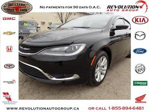 2016 Chrysler 200 LIMITED HEATED SEATS