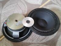 Martin Audio Drivers 600watt Magnetic -20cm!!! Monsters!!! Kit for Turbosound Void Rcf Yamaha Ftb