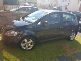 VW Golf Plus 1.6 FSI 2006 one owner ,96341miles only