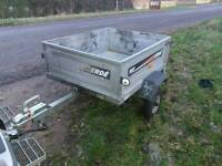 Erde 102 tipper trailer