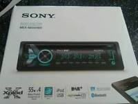 Sony car stereo with usb Bluetooth and dab