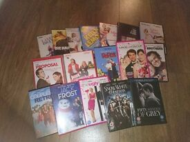 Collection of 17 Latest DVD's excellent condition