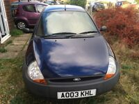 Ford KA Blue for Parts/Spares