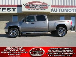 2014 GMC SIERRA 2500HD SLT Z71 4X4 DURAMAX DIESEL, LOADED, 1-OWN