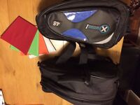 Oxford Motorcycle panniers, 'First time luggage' Large size unused