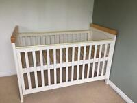 Cot bed, Highchair, Swing & Toys