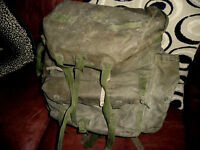 GENUINE SAS BERGEN RUCKSACK FALKLANDS ISSUE. BRITISH ARMY.