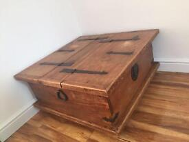 Beautiful Solid Wood Coffee Table / trunk
