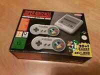 Nintendo SNES Mini - Brand New + freebies