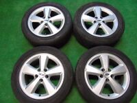 """FORD FOCUS, GALAXY, TRANSIT CONNECT, C-MAX, S-MAX, MONDEO 16"""" inch ALLOY WHEELS ( our ref 104 )"""