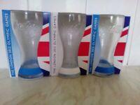 THREE RARE McDONALD'S COLLECTOR'S ITEMS GLASSES
