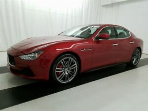 2015 Maserati Ghibli ONLY 40000 KMS! AWD S Q4! FULLY LOADED