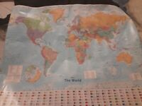 Trading Map of the World for Map of the UK