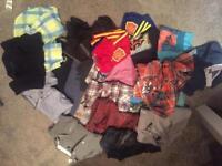 Job lot boys clothes 4-5years