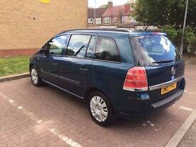 2007 Vauxhall Zafira 1.9 CDTi Life 5dr Fully HPI Clear 2 keys @07445775115@ 07725982426@